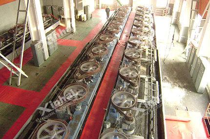 Алтны уурхайн флотацийн үйлдвэрлэлийн шугам